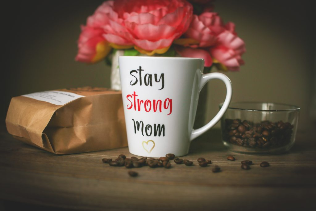 stay strong mom coffee mug